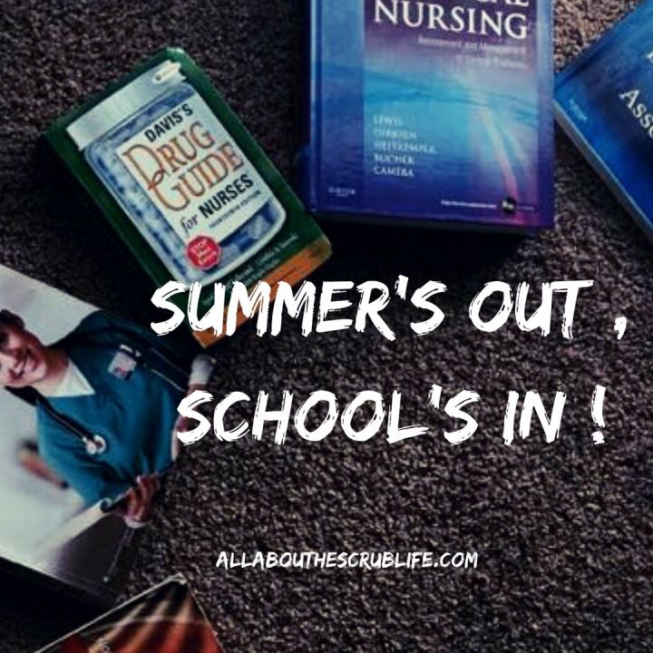 Back To School: Summer's Out, School's In!