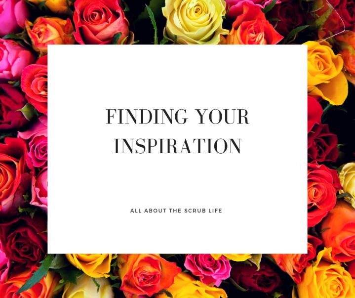 Monday Motivation: FindingInspiration